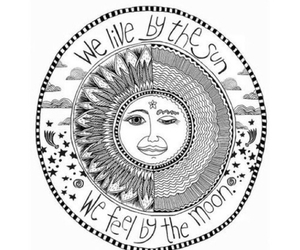 sun, moon, and live image