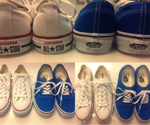 blue, converse, and nice image