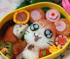 food, hamtaro, and bento image