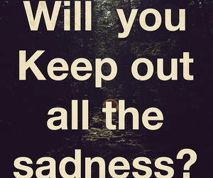sadness and text image