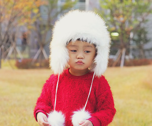 asian, baby, and beautiful image