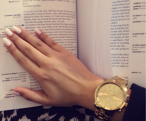book, watch, and accessories image