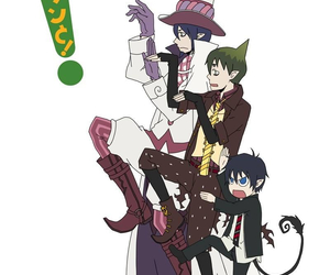 mephisto, rin, and ao no exorcist image