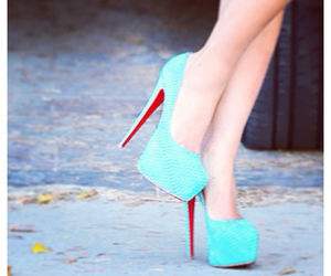 louboutin, blue, and perfect image