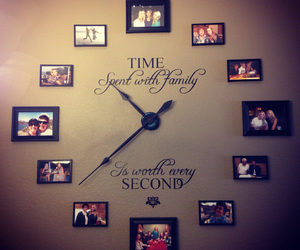 clock, family, and frame image