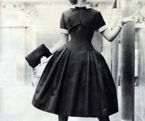 vintage, 50's, and black and white image