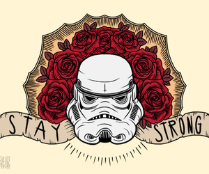 star wars, tattoo, and stay strong image