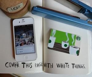 starbucks, iphone, and tumblr image