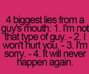 guy, lies, and teenager post image