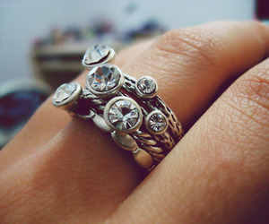 hand, ring, and pretty image