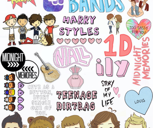 one direction, overlay, and transparent image