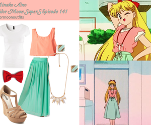 outfit, sailor moon, and sailor venus image