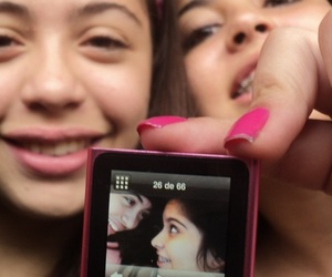 bff, friendship, and ipod image