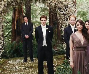 twilight, breaking dawn, and wedding image