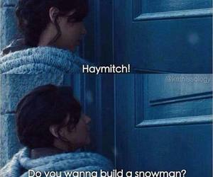katniss, frozen, and haymitch image