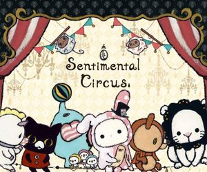 kawaii, sentimental circus, and cute image
