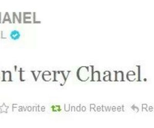chanel, fat, and quotes image