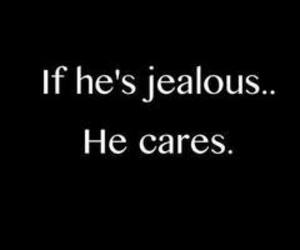 love, jealous, and care image