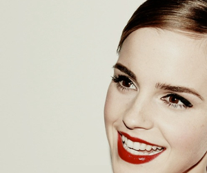 emma watson, harry potter, and red image