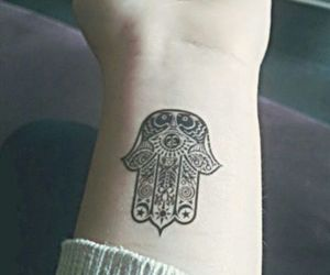 symbol, tattoo, and hamsa image