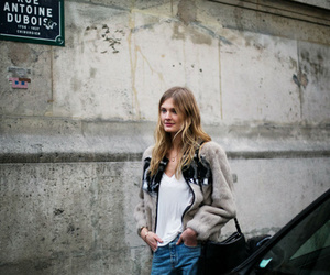 fashion week, model, and paris image