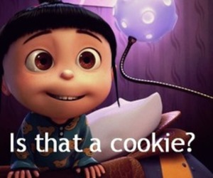 cookie, agnes, and despicable me image