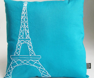 eiffel tower, france, and handmade image