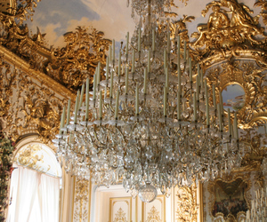 beauty, chandelier, and simple image