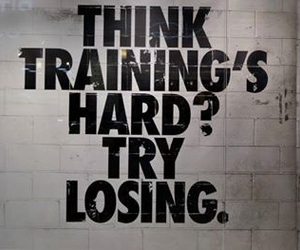 losing, training, and motivation image