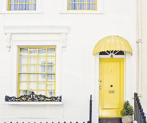 yellow, aesthetic, and house image