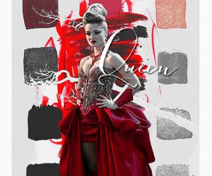 red queen and ouat in wonderland image
