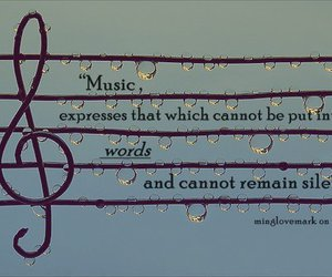 music, words, and ♥ image