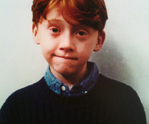 harry potter, rupert grint, and ron weasley image