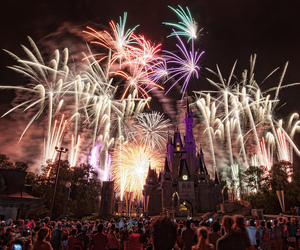 fireworks, disney, and photography image