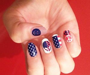 usa, fashion, and nail image
