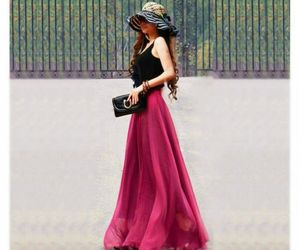 classy, fashionable, and skirt image