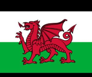 red dragon, wales, and welsh image