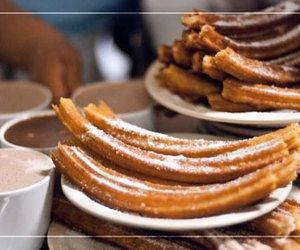 chocolate and churros image