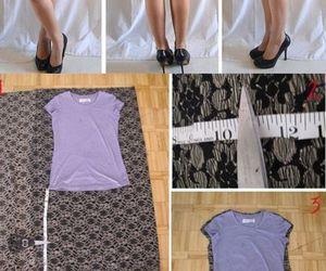 diy, dress, and dresses image