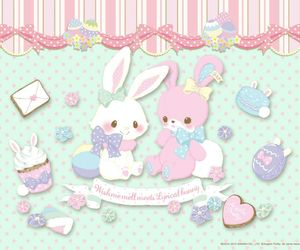 kawaii, bunny, and cute image