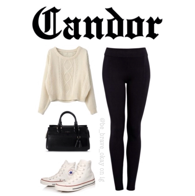 Divergent inspired outfits: Sweaters 4/5 ~Candor