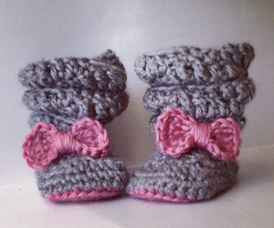 booties, boots, and girl image