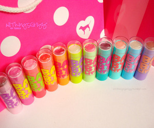 baby lips and pink image