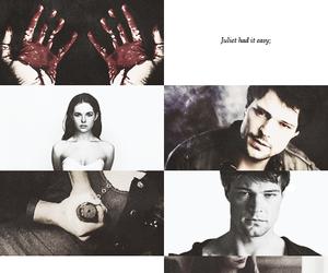 vampire academy, rose hathaway, and dimitri belikov image