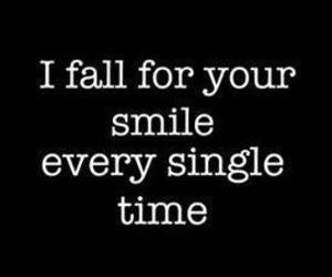 love, smile, and quotes image
