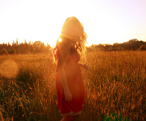 country, dress, and field image