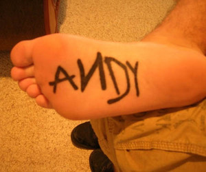 toy story, tattoo, and andy image