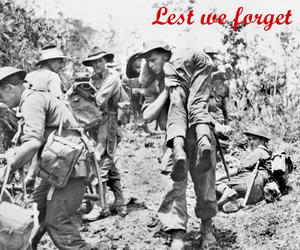 anzac day, ecard, and heroes image