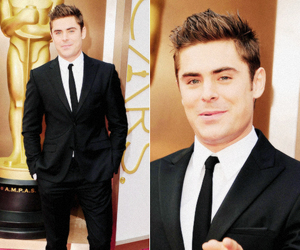zac efron and oscars image