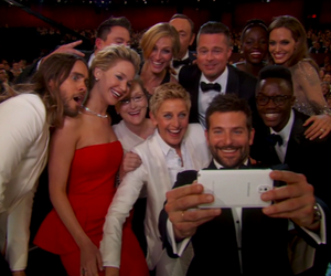 oscar, selfie, and Jennifer Lawrence image